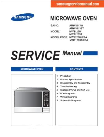 service manual samsung service manual rh samsungservicemanual wordpress com Samsung Over Range Microwave Parts Samsung Microwave Replacement Parts